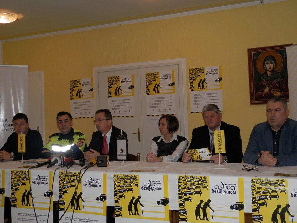 Одржана прес конференција у Социјално-геријатриском центру Бања Лука