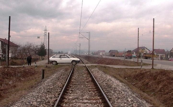 """КАМПАЊА   """"Пази пружни прелаз - воз има предност"""""""