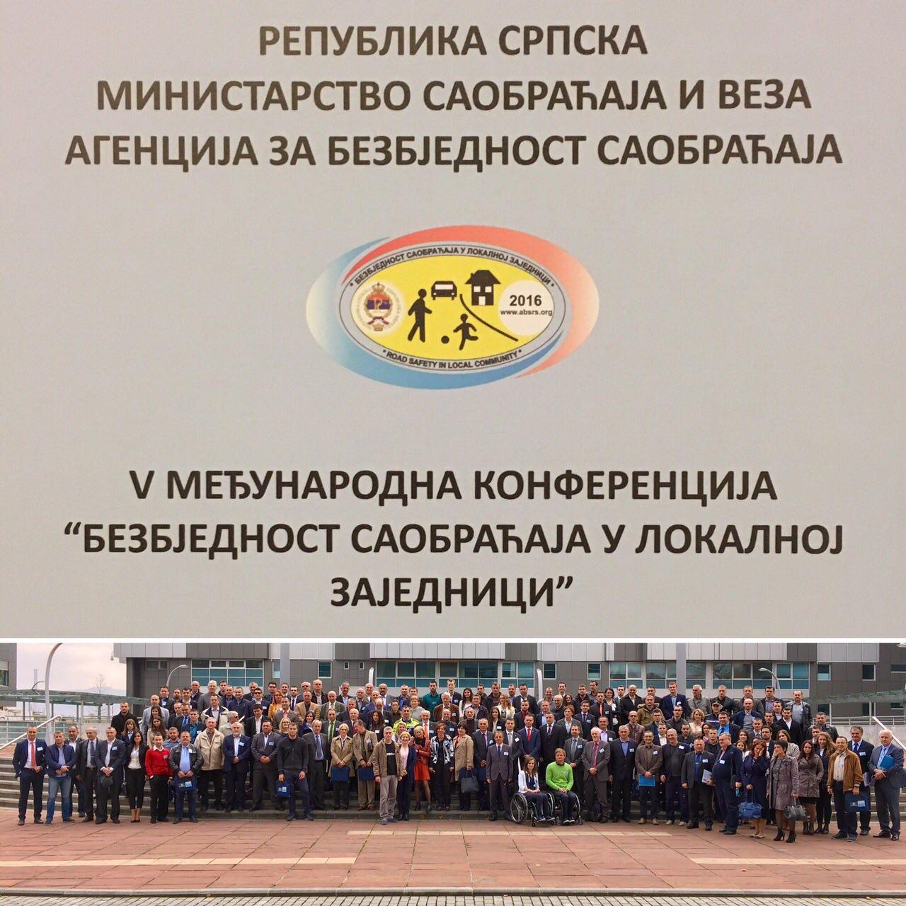 """Закључци са V Међународне конфернције """"Безбједност саобраћаја у локалној заједници"""""""