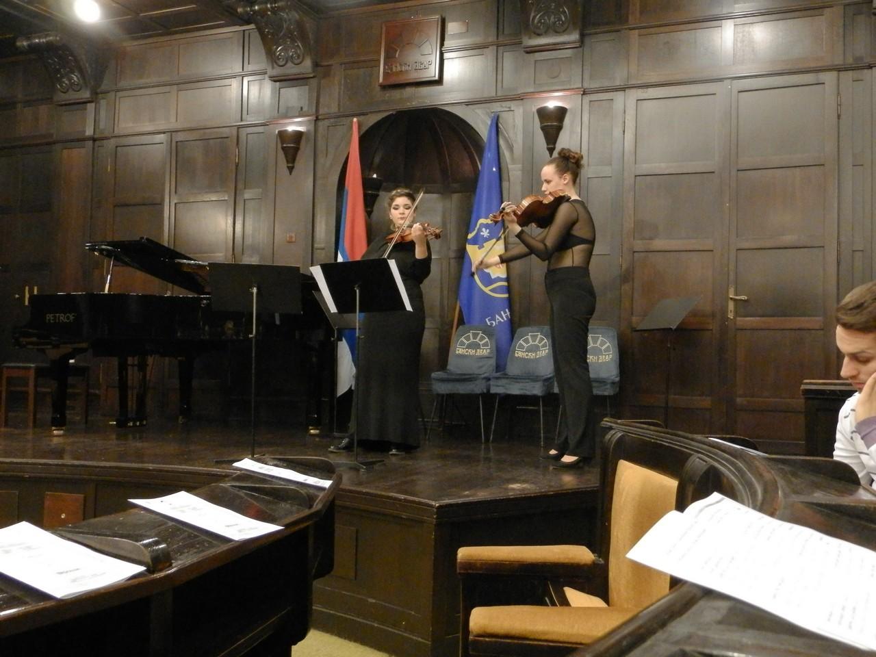 У Вијећници Банског Двора одржан концерт класичне музике