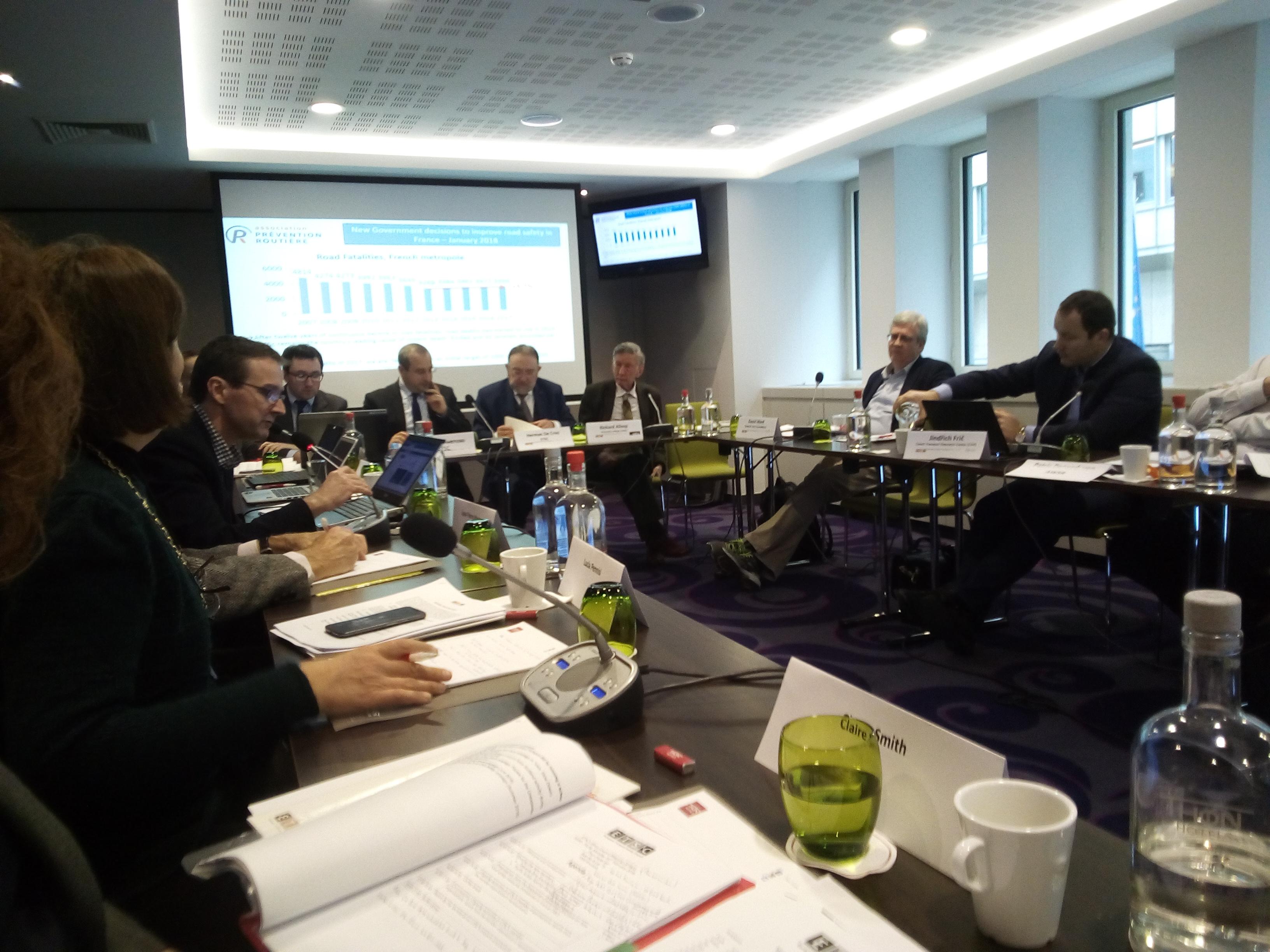 Агенција за безбједност саобраћаја је по први пут учествовала на сједници Главног вијећа Европског савјета за безбједност саобраћаја,