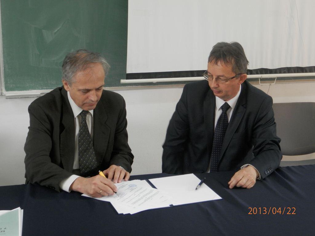 Споразум о научној, стручној и пословној сарадњи