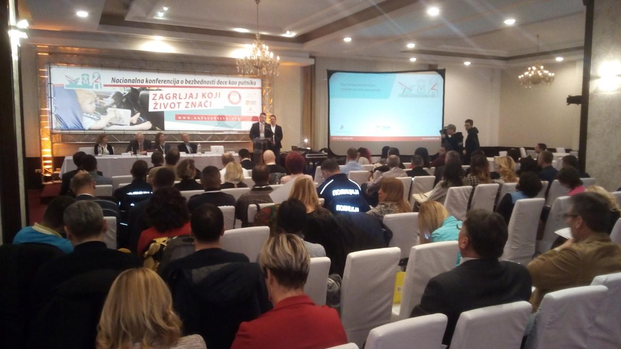 У Новом Саду одржана конференција посвећена узроцима страдања дјеце као путника у саобраћају