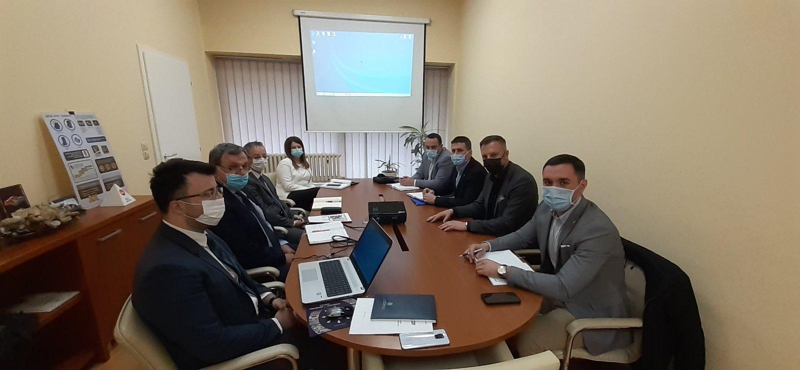 Министар саобраћаја и веза Недељко Ћорић у посјети Агенцији за безбједност саобраћаја