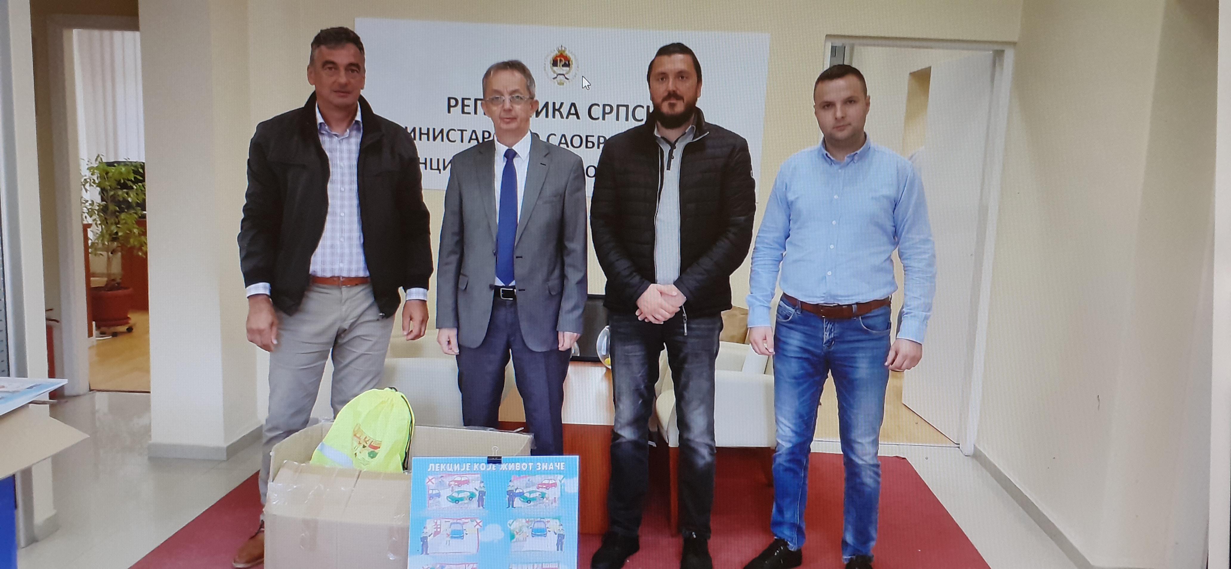 У Агенцији за безбједност саобраћаја одржан радни састанак са начелником Општине Петровац